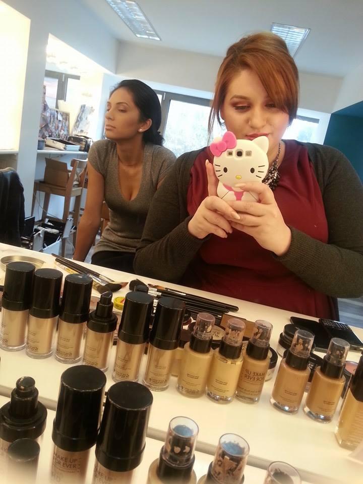 Am Luat O Decizie înţeleaptă M Am înscris La şcoala De Make Up