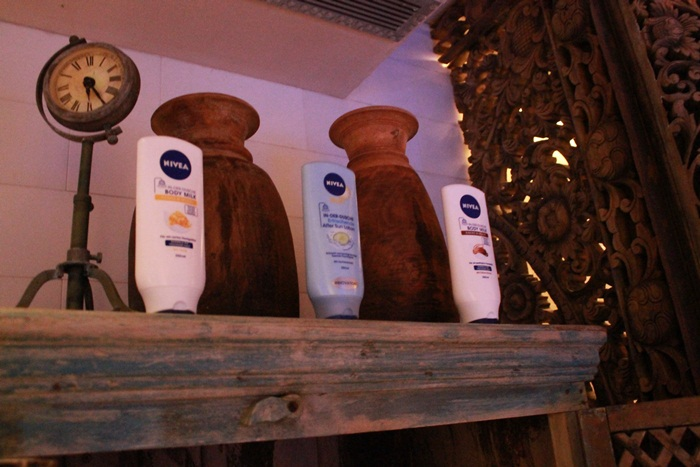 Nivea In-Shower body milk 2