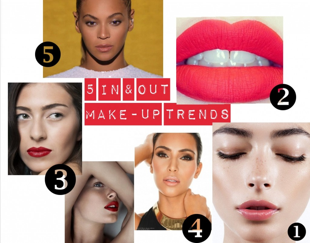 5 In & Out make-up trends