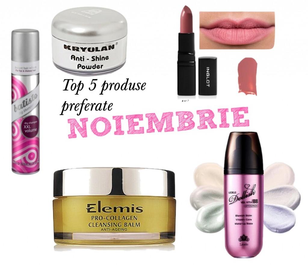 Top 5 produse preferate noiembrie