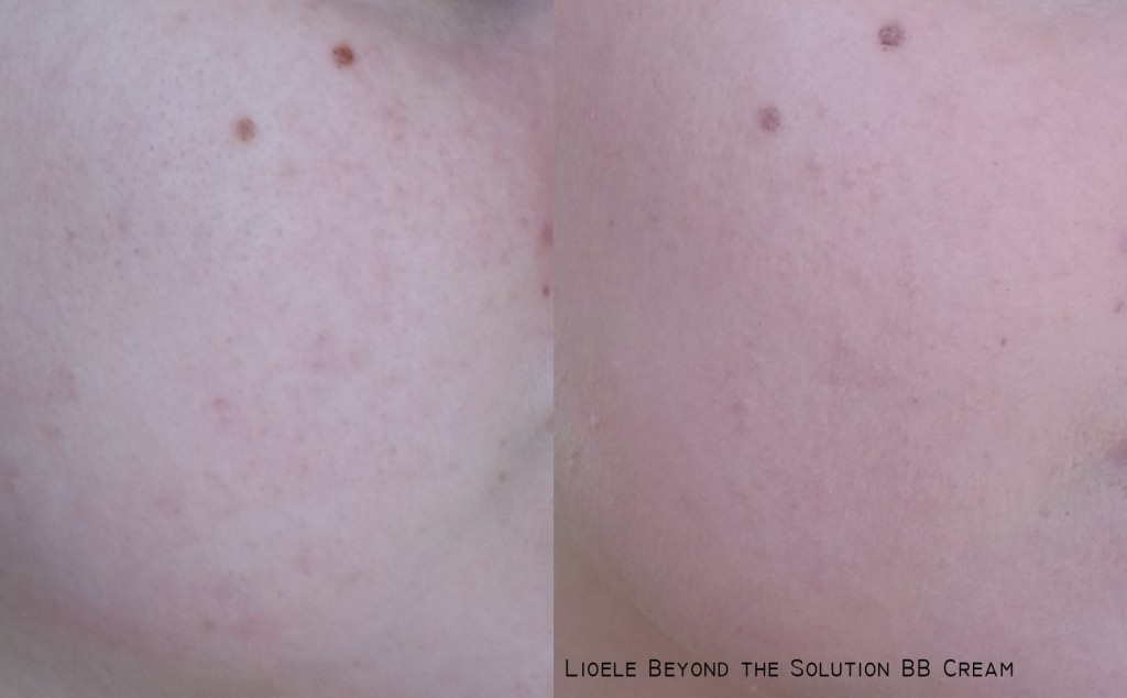 Lioele Beyond the Solution BB Cream swatch