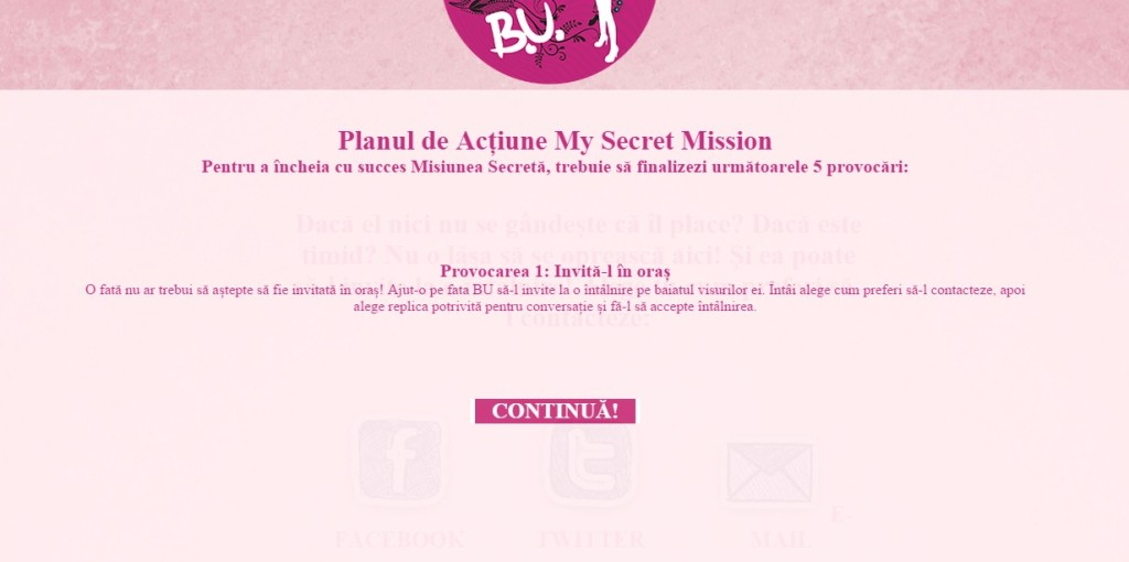 B.U. my secret mission3