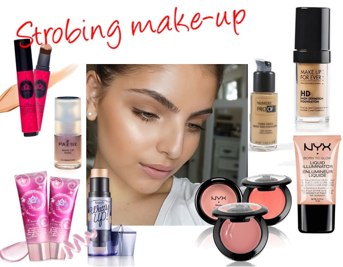 strobing make-up