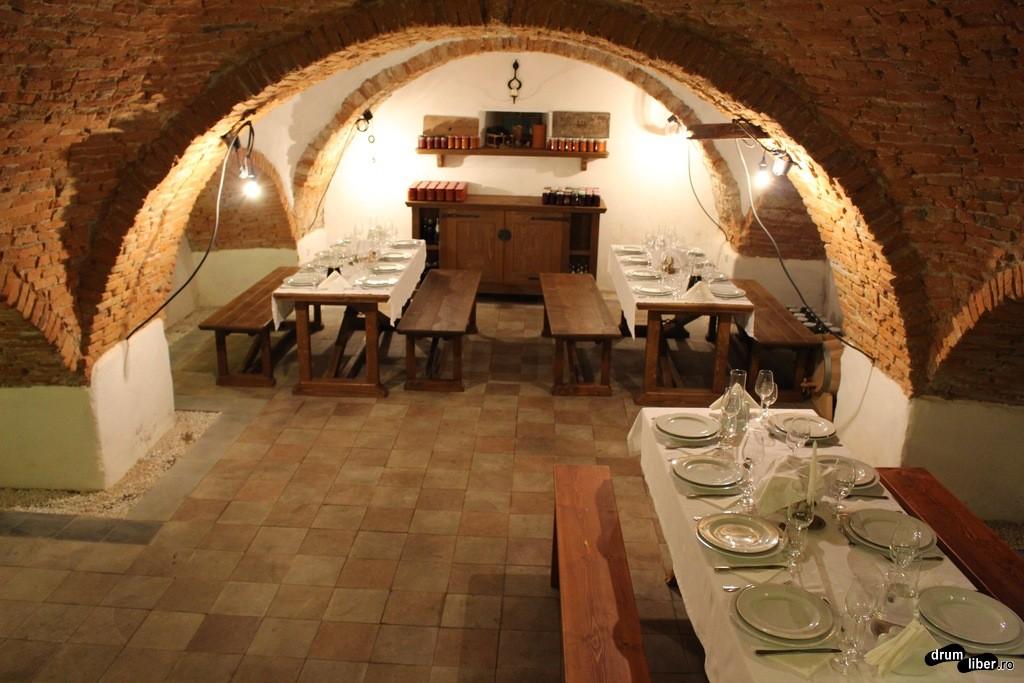 cină în stil Renascentist hotel castel daniel
