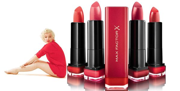 Max Factor Marilyn Lipstick Collection