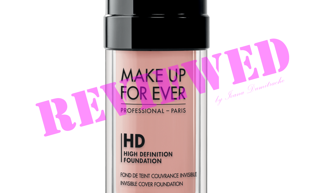 Review MAKE UP FOR EVER HD Foundation