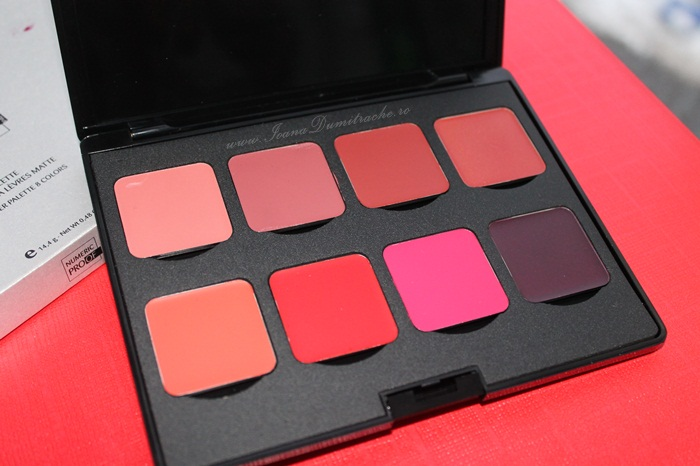 Numeric Proof lipstick palette swatches