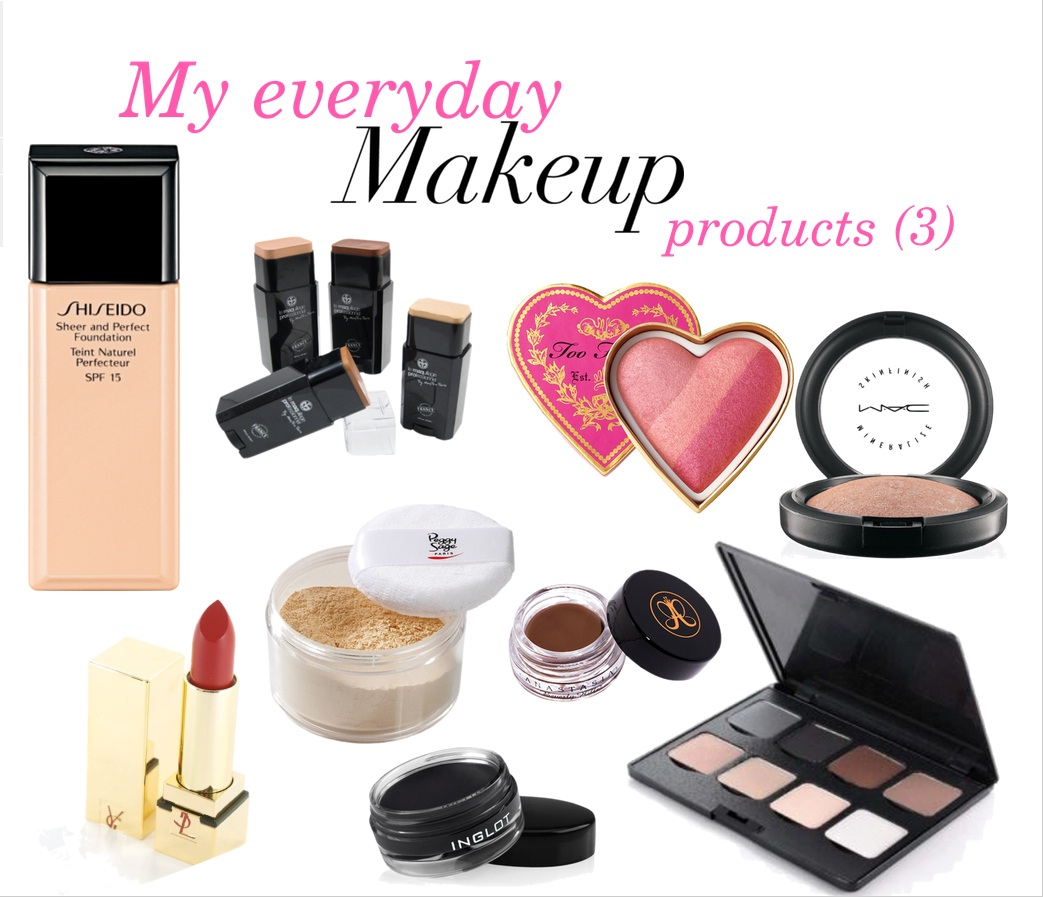 My everyday make-up products (3)