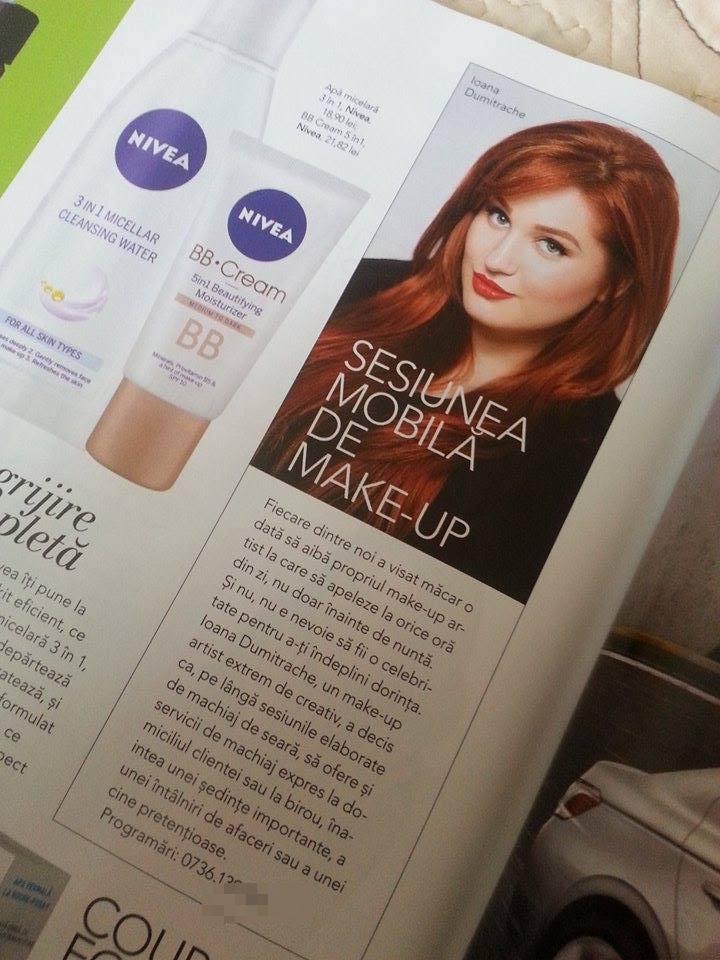 Am apărut în revista The ONE!