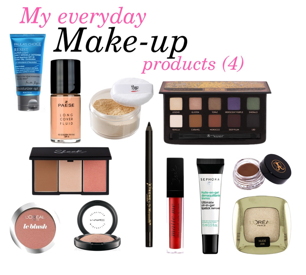 My everyday make-up products (4)
