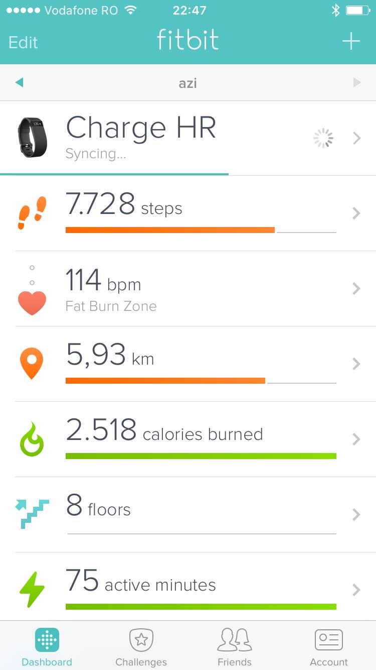Astăzi am ieşit pentru prima dată la alergat