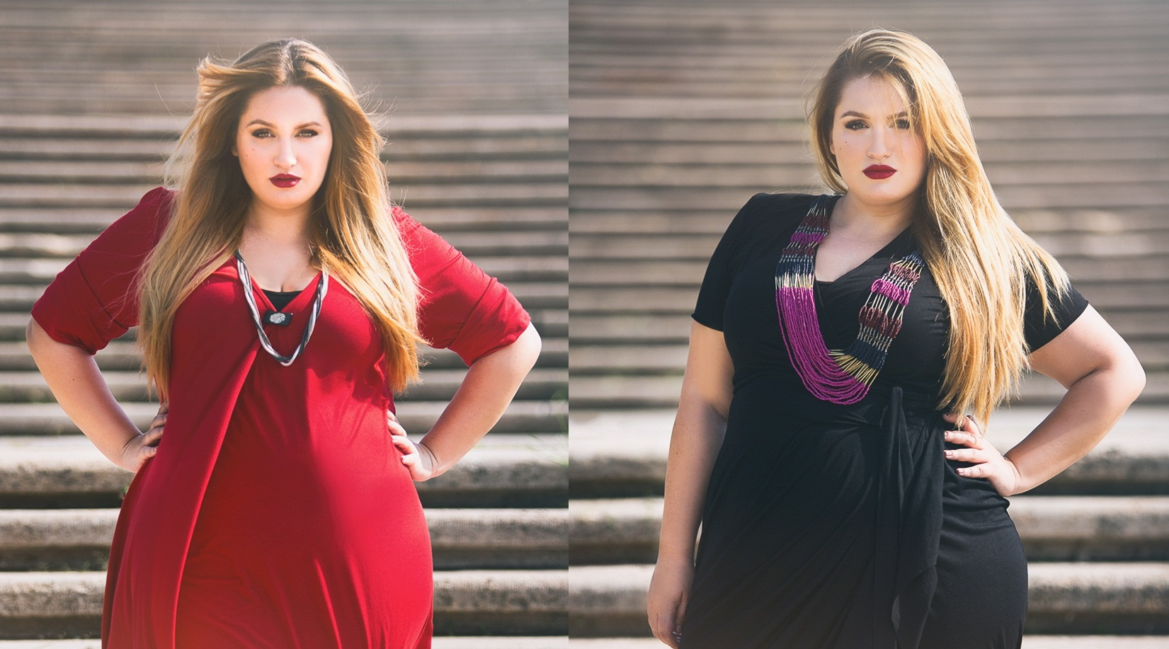 Outfit post. Girotondo – primul brand 100% românesc cu haine plus-size