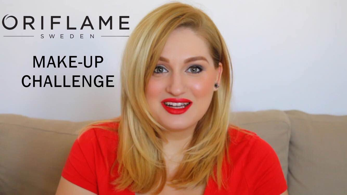 [VIDEO] Oriflame Make-up Challenge| Un machiaj complet realizat cu 6 produse alese de Adina Vlad