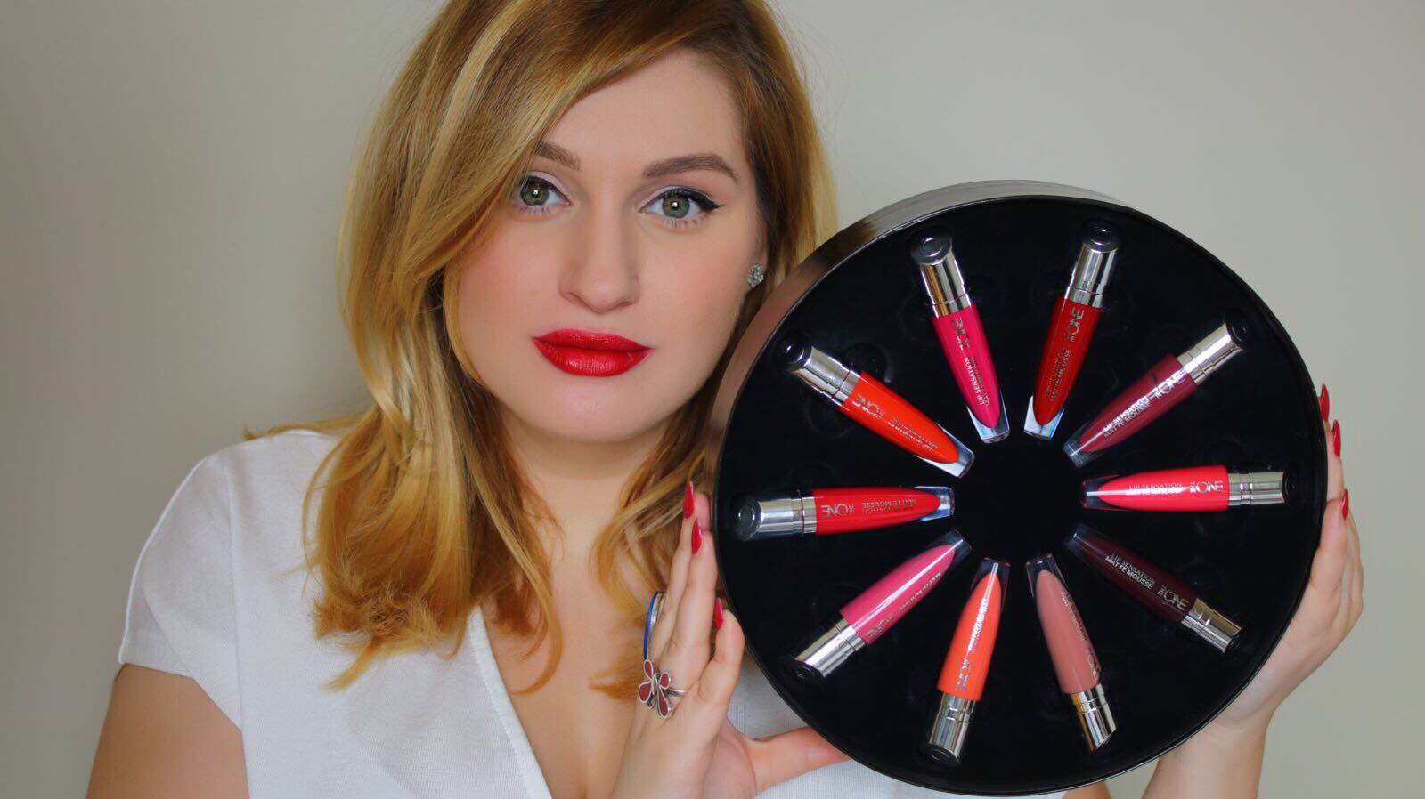 [VIDEO] Lip Swatch & Review Oriflame THE ONE Lip Sensation Matte Mousse