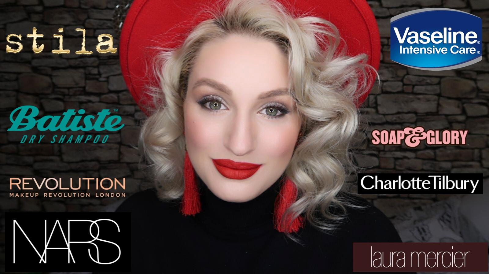 LONDON HAUL| Cosmetice de la Nars, Charlotte Tilbury, Stila, Laura Mercier & others
