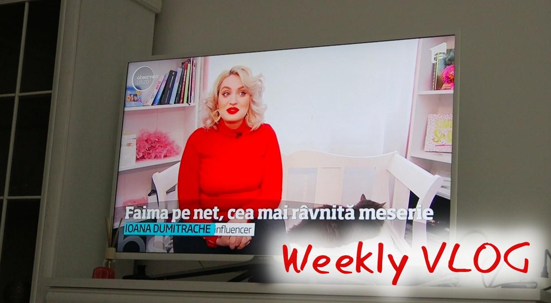 Weekly VLOG 5  Apariții TV, repetiții BaByliss și #BeautyDays la Constanța