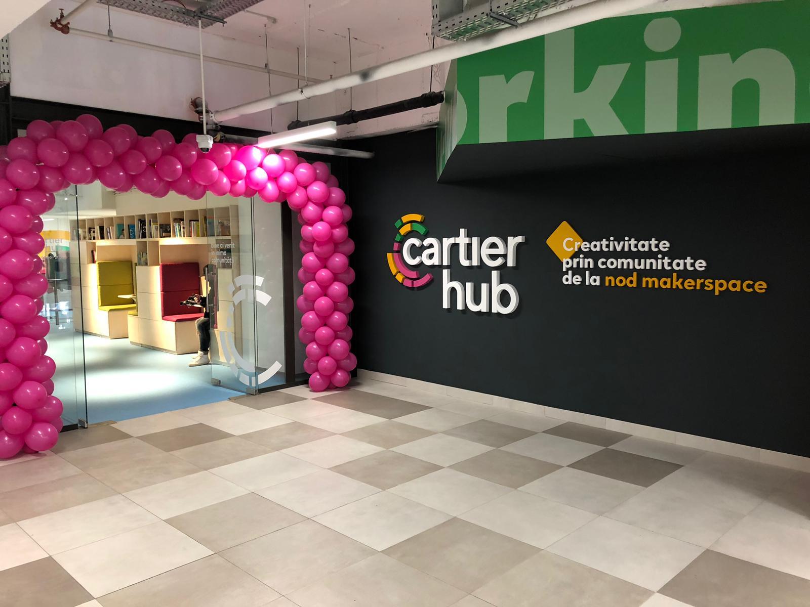 Vizitează noul spațiu de lucru dedicat antreprenorilor din cartierul nostru!